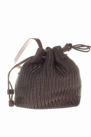 Дамска чанта Reserved, Цвят Кафяв, Еко кожа, Цена 24,50лв.