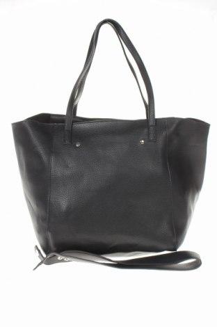 Дамска чанта Reserved, Цвят Черен, Еко кожа, Цена 26,55лв.