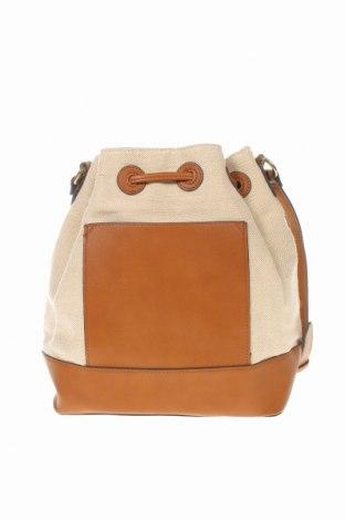 Дамска чанта Reserved, Цвят Кафяв, Еко кожа, текстил, Цена 44,25лв.