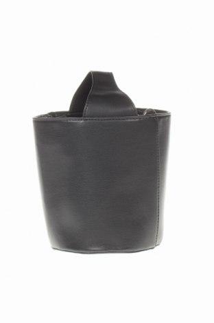 Дамска чанта Reserved, Цвят Черен, Еко кожа, Цена 12,21лв.