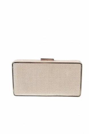 Дамска чанта Reserved, Цвят Бежов, Текстил, Цена 24,50лв.