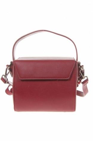 Дамска чанта Reserved, Цвят Червен, Еко кожа, Цена 31,50лв.