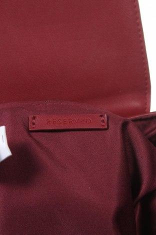Дамска чанта Reserved, Цвят Червен, Еко кожа, Цена 20,16лв.