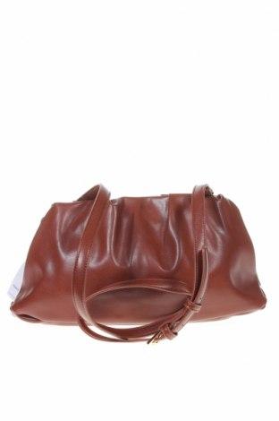 Дамска чанта Reserved, Цвят Кафяв, Еко кожа, Цена 28,42лв.