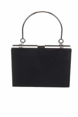 Дамска чанта Reserved, Цвят Черен, Текстил, Цена 51,75лв.