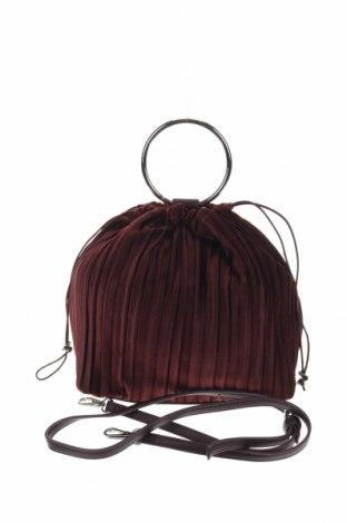 Дамска чанта Reserved, Цвят Червен, Текстил, Цена 21,12лв.