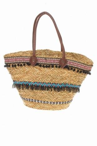 Γυναικεία τσάντα Reserved, Χρώμα Καφέ, Άλλα υλικά, Τιμή 17,48€