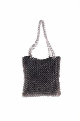 Дамска чанта Reserved, Цвят Сив, Други материали, Цена 34,22лв.