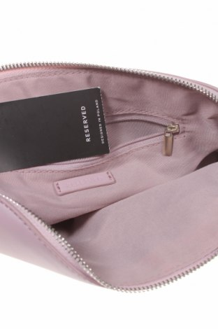 Дамска чанта Reserved, Цвят Лилав, Еко кожа, Цена 22,05лв.