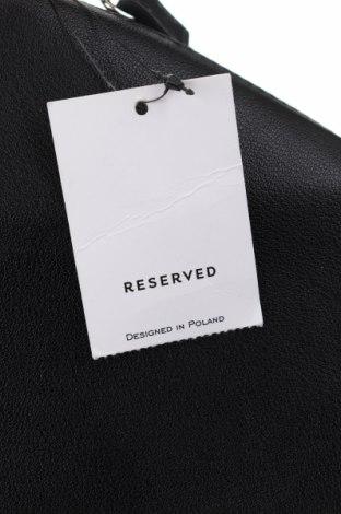 Дамска чанта Reserved, Цвят Черен, Еко кожа, Цена 28,32лв.