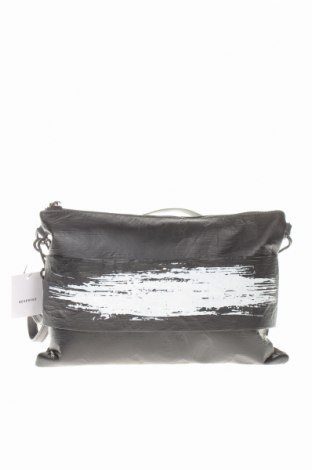Дамска чанта Reserved, Цвят Черен, Еко кожа, Цена 23,52лв.