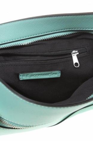 Дамска чанта Reserved, Цвят Зелен, Еко кожа, Цена 14,40лв.