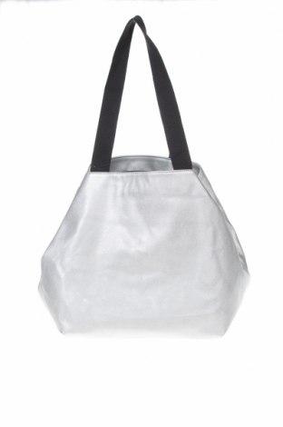 Дамска чанта Reserved, Цвят Сребрист, Еко кожа, Цена 31,05лв.