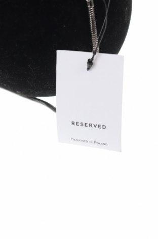 Дамска чанта Reserved, Цвят Черен, Текстил, Цена 26,55лв.
