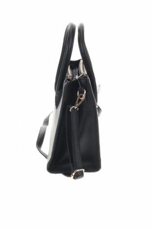Дамска чанта Sinsay, Цвят Черен, Еко кожа, Цена 23,40лв.