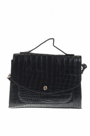 Дамска чанта Sinsay, Цвят Черен, Еко кожа, Цена 23,52лв.