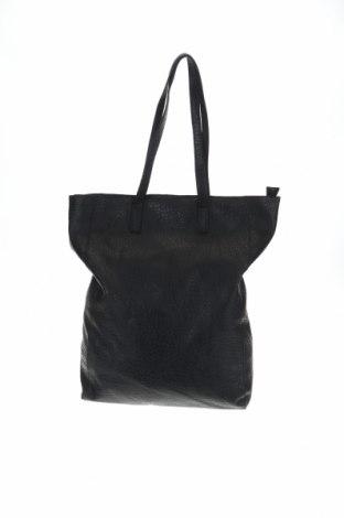 Дамска чанта Sinsay, Цвят Черен, Еко кожа, Цена 28,60лв.