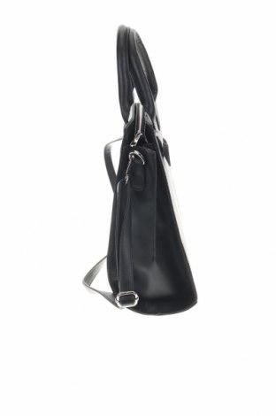 Дамска чанта Sinsay, Цвят Черен, Еко кожа, Цена 33,12лв.