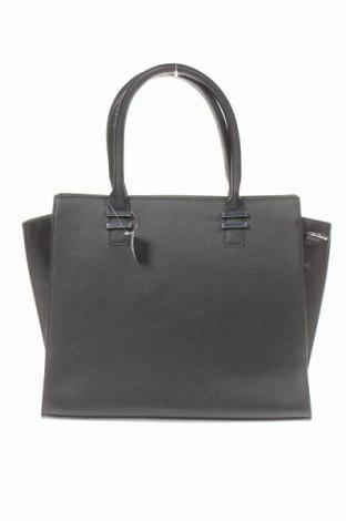 Дамска чанта Sinsay, Цвят Черен, Еко кожа, Цена 32,45лв.