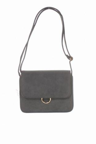 Дамска чанта Sinsay, Цвят Сив, Еко кожа, Цена 22,05лв.