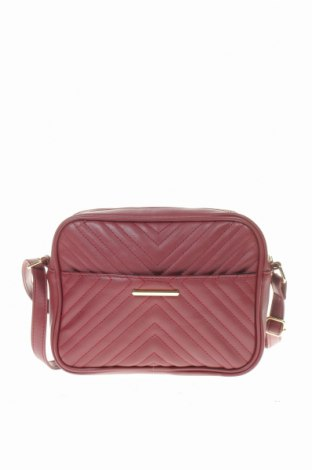 Дамска чанта Sinsay, Цвят Червен, Еко кожа, Цена 23,10лв.