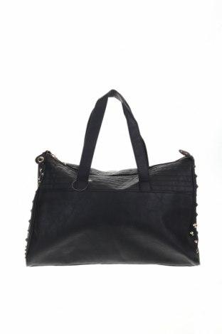 Дамска чанта Sinsay, Цвят Черен, Еко кожа, Цена 23,10лв.
