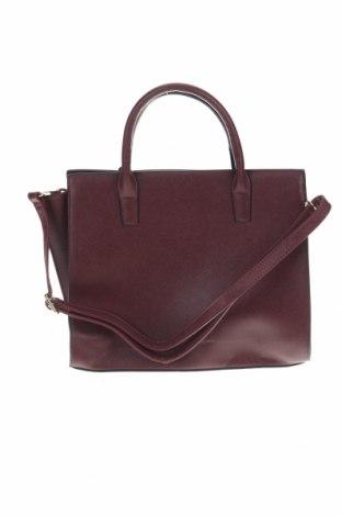 Дамска чанта Sinsay, Цвят Червен, Еко кожа, Цена 35,96лв.