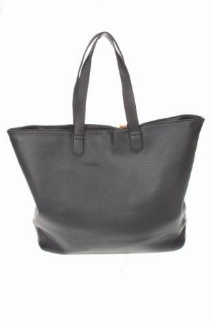 Дамска чанта Sinsay, Цвят Черен, Еко кожа, Цена 39,00лв.