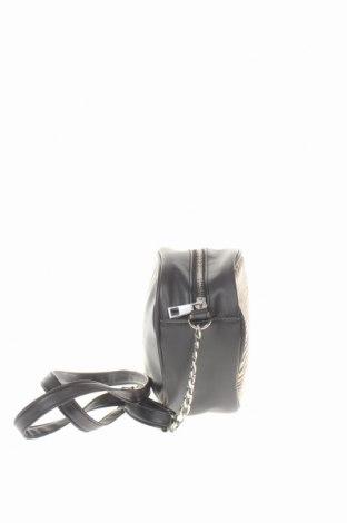 Дамска чанта Sinsay, Цвят Черен, Еко кожа, Цена 22,04лв.