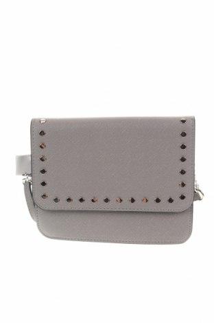 Дамска чанта Sinsay, Цвят Сив, Еко кожа, Цена 22,62лв.