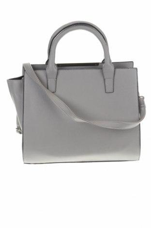 Γυναικεία τσάντα Sinsay, Χρώμα Γκρί, Δερματίνη, Τιμή 26,68€