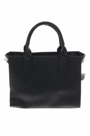Дамска чанта Sinsay, Цвят Черен, Еко кожа, Цена 28,32лв.