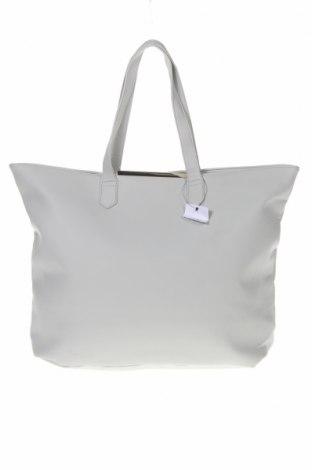 Дамска чанта Sinsay, Цвят Сив, Еко кожа, Цена 28,42лв.