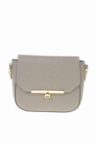 Дамска чанта Sinsay, Цвят Сив, Еко кожа, Цена 24,00лв.
