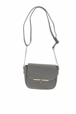 Дамска чанта Sinsay, Цвят Сив, Еко кожа, Цена 21,00лв.