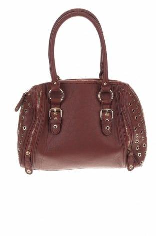 Дамска чанта Sinsay, Цвят Кафяв, Еко кожа, Цена 26,00лв.