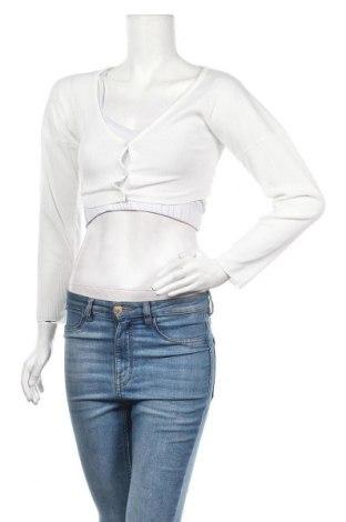 Дамска жилетка, Размер S, Цвят Бял, Цена 8,40лв.