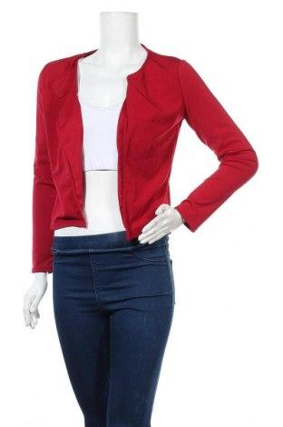 Γυναικεία ζακέτα, Μέγεθος M, Χρώμα Κόκκινο, 65% πολυεστέρας, 35% βαμβάκι, Τιμή 5,68€