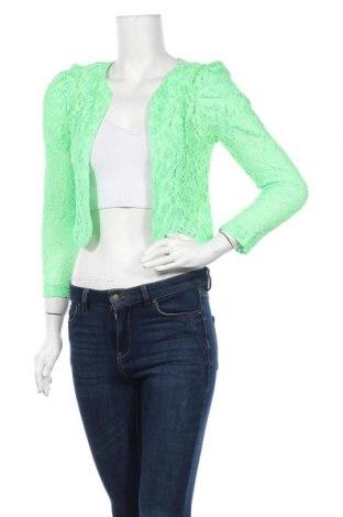 Γυναικεία ζακέτα Best Emilie, Μέγεθος S, Χρώμα Πράσινο, Βαμβάκι, Τιμή 3,39€