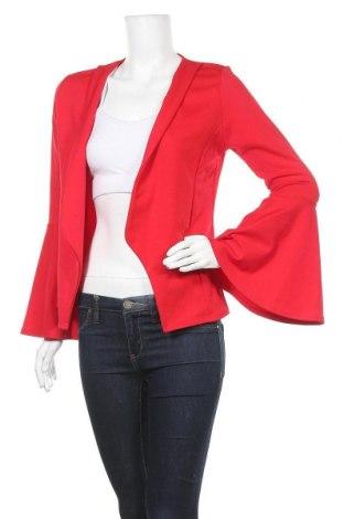 Γυναικεία ζακέτα Boohoo, Μέγεθος S, Χρώμα Κόκκινο, 95% πολυεστέρας, 5% ελαστάνη, Τιμή 5,00€