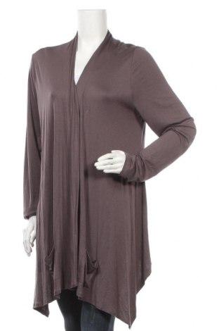 Γυναικεία ζακέτα Gina Benotti, Μέγεθος XL, Χρώμα Γκρί, 95% βισκόζη, 5% ελαστάνη, Τιμή 5,91€