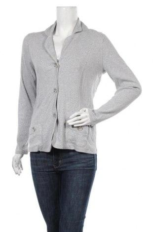 Γυναικεία ζακέτα Golle Haug, Μέγεθος M, Χρώμα Γκρί, 95% βαμβάκι, 5% ελαστάνη, Τιμή 6,14€