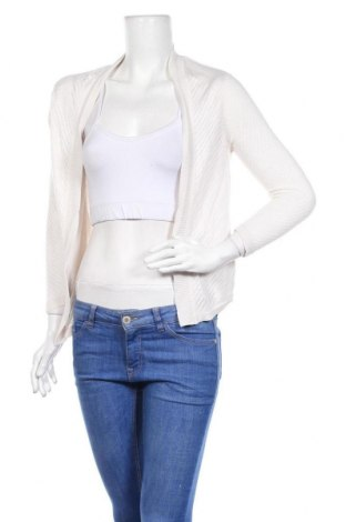 Γυναικεία ζακέτα H&M, Μέγεθος S, Χρώμα  Μπέζ, 95% βισκόζη, 5% μετάξι, Τιμή 7,54€