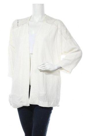 Дамска жилетка H&M, Размер S, Цвят Екрю, Вискоза, Цена 7,40лв.