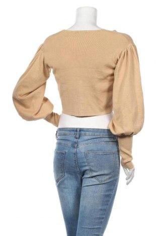 Γυναικεία ζακέτα Missguided, Μέγεθος S, Χρώμα  Μπέζ, Τιμή 5,41€