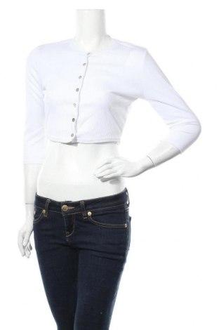 Γυναικεία ζακέτα Missguided, Μέγεθος S, Χρώμα Λευκό, Τιμή 6,64€
