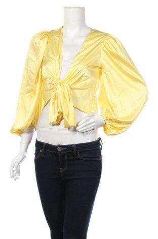 Дамска жилетка Missguided, Размер L, Цвят Жълт, Цена 34,50лв.