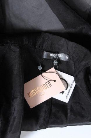 Γυναικεία ζακέτα Missguided, Μέγεθος XL, Χρώμα Μαύρο, Πολυεστέρας, Τιμή 7,07€