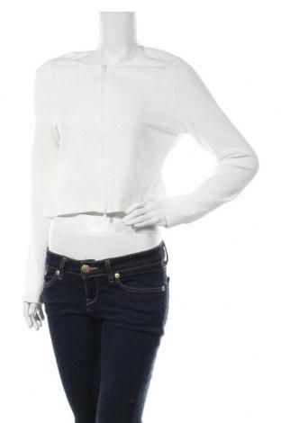 Γυναικεία ζακέτα Missguided, Μέγεθος S, Χρώμα Λευκό, Τιμή 6,06€