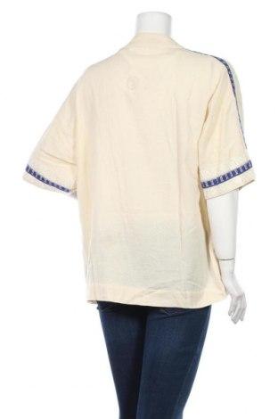 Дамска жилетка Sita Murt, Размер M, Цвят Бежов, 82% памук, 18% лен, Цена 38,40лв.